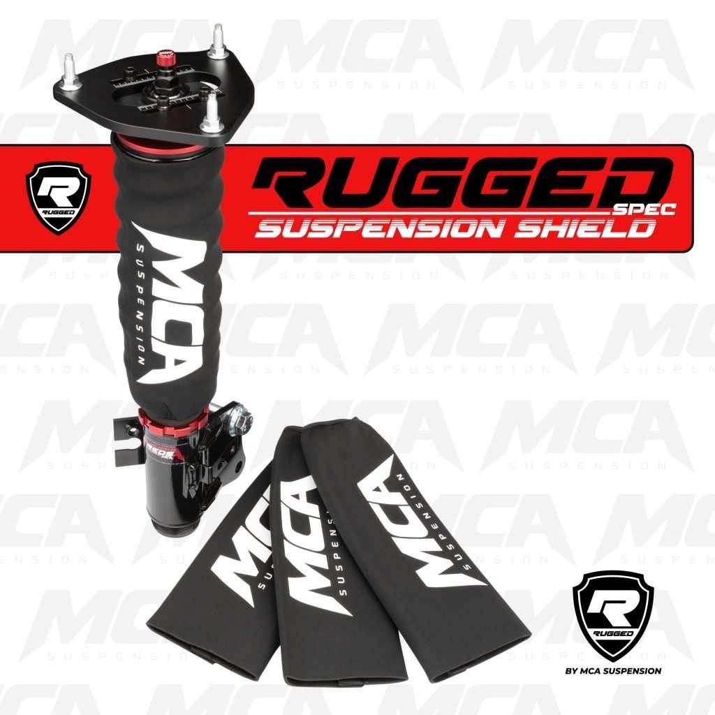 Rugged Spec MCA Suspension Shock Shield
